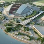 Новый национальный стадион в Сингапуре